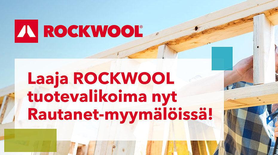 Rocwoolin laaja tuotevalikoima